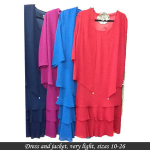Dress and Jacket set 46