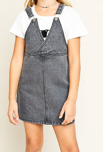 Back Talk Reversible Overall Dress