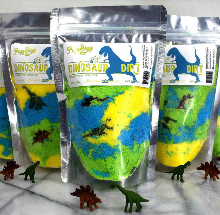 Dinosaur Dirt Bath Fizz