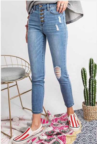 Buttoned Up Skinnies