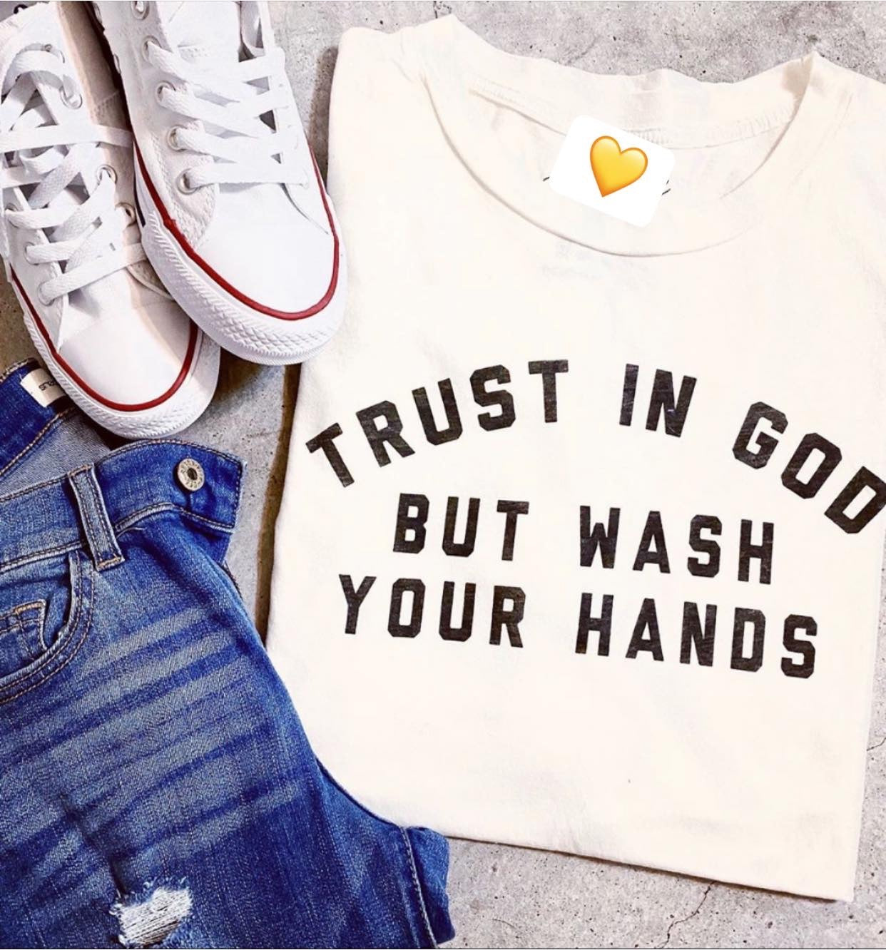 Trust In God, But Wash Your Hands