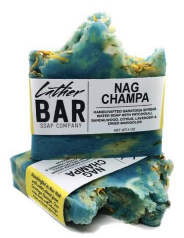 Lather Bar Nag Champa Bar Soap