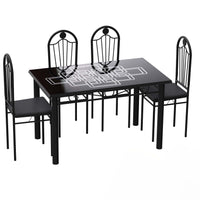 Dining Table Set (1+4) A31/B18 120x70cm