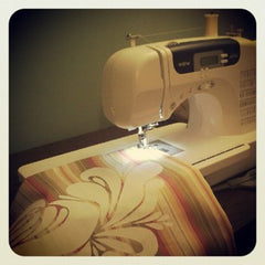 My weapon of choice, sewing machine