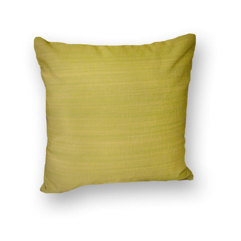 Bamboo throw pillow - Green