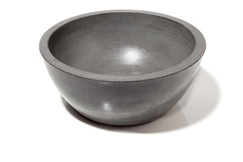 Charcoal Concrete Bowl by FMC Design