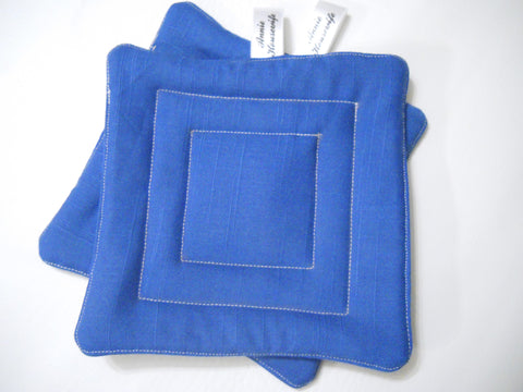 Square Stitch Pot Holders