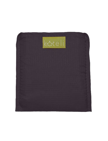 Black Koteli Reusable bag (folded)
