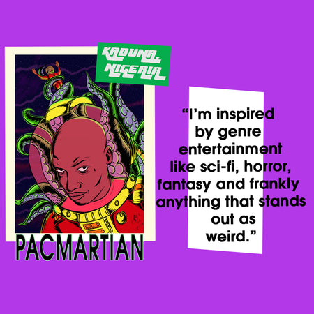 GET TO KNOW POP X ARTIST: PACMARTIAN
