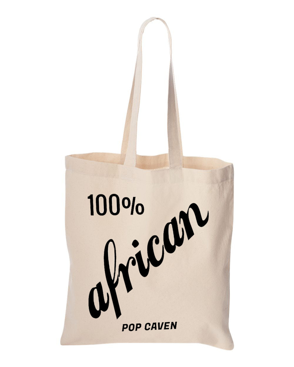 100% AFRICAN TOTE BAG - POP CAVEN