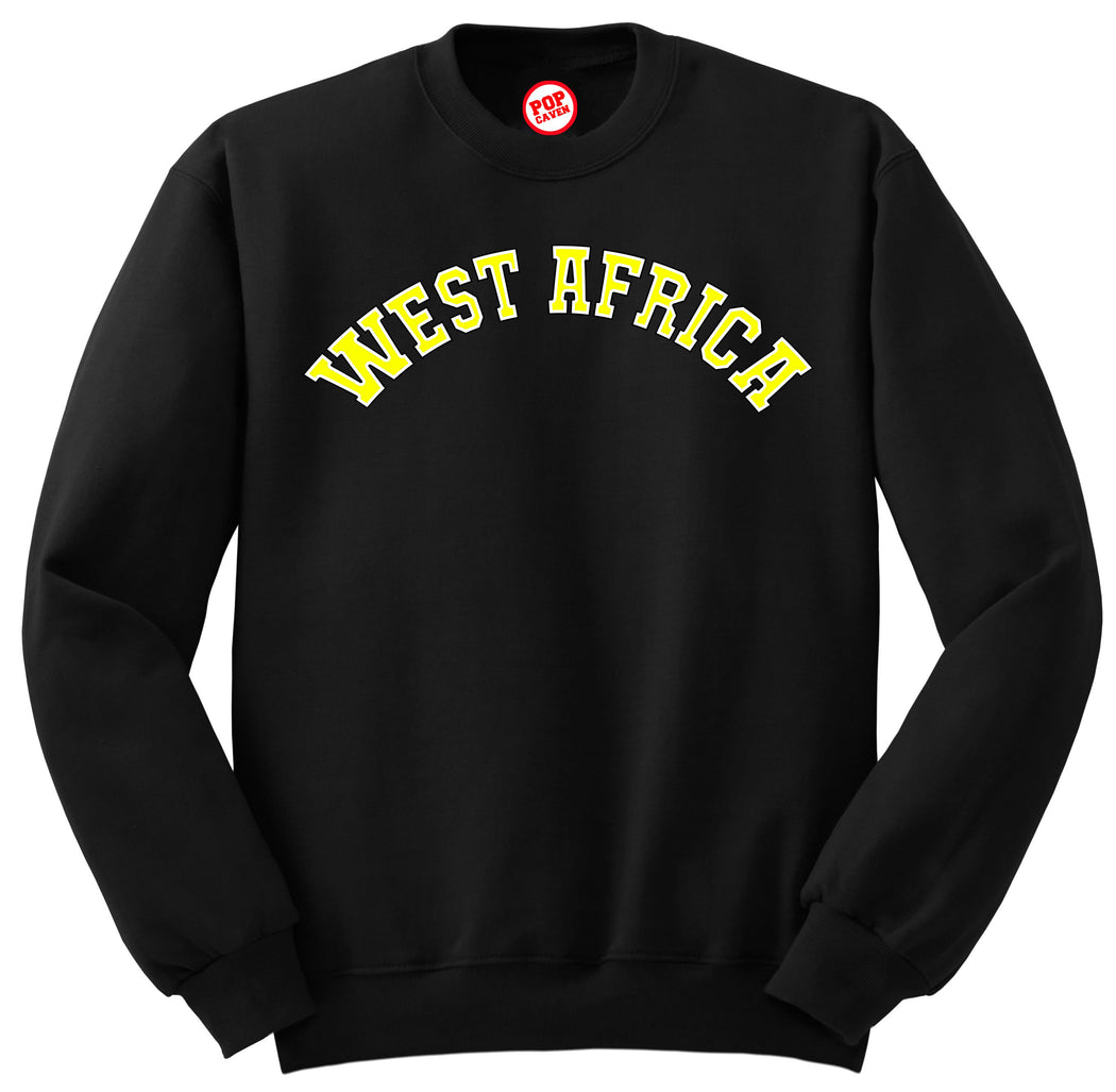 WEST AFRICA SWEATSHIRT - POP CAVEN