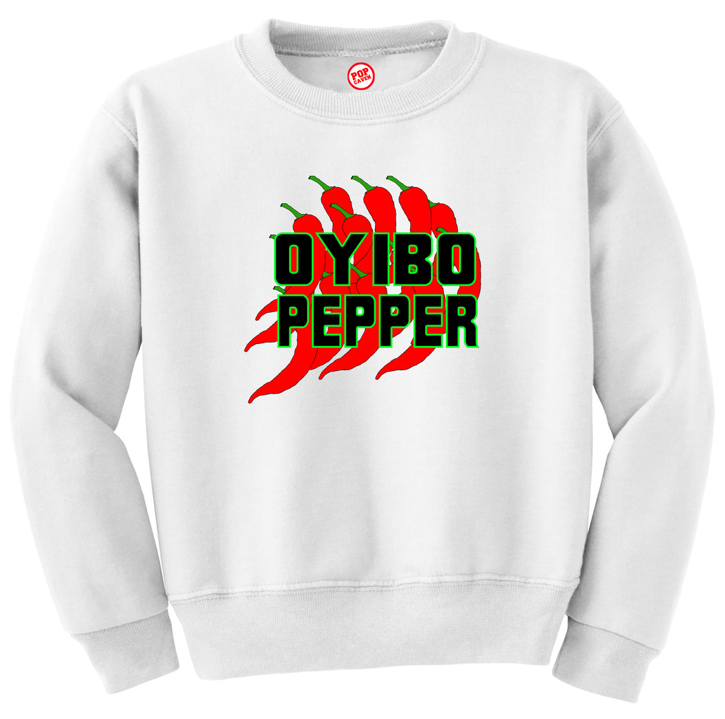 OYIBO PEPPER SWEATSHIRT - POP CAVEN