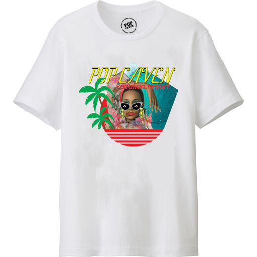 RESORT VACATION T-SHIRT - POP CAVEN