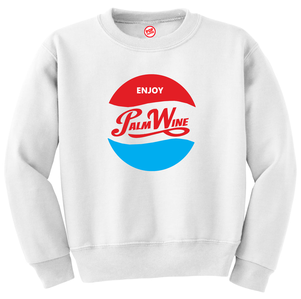 ENJOY PALM WINE SWEATSHIRT