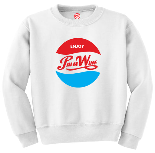 ENJOY PALM WINE SWEATSHIRT - POP CAVEN