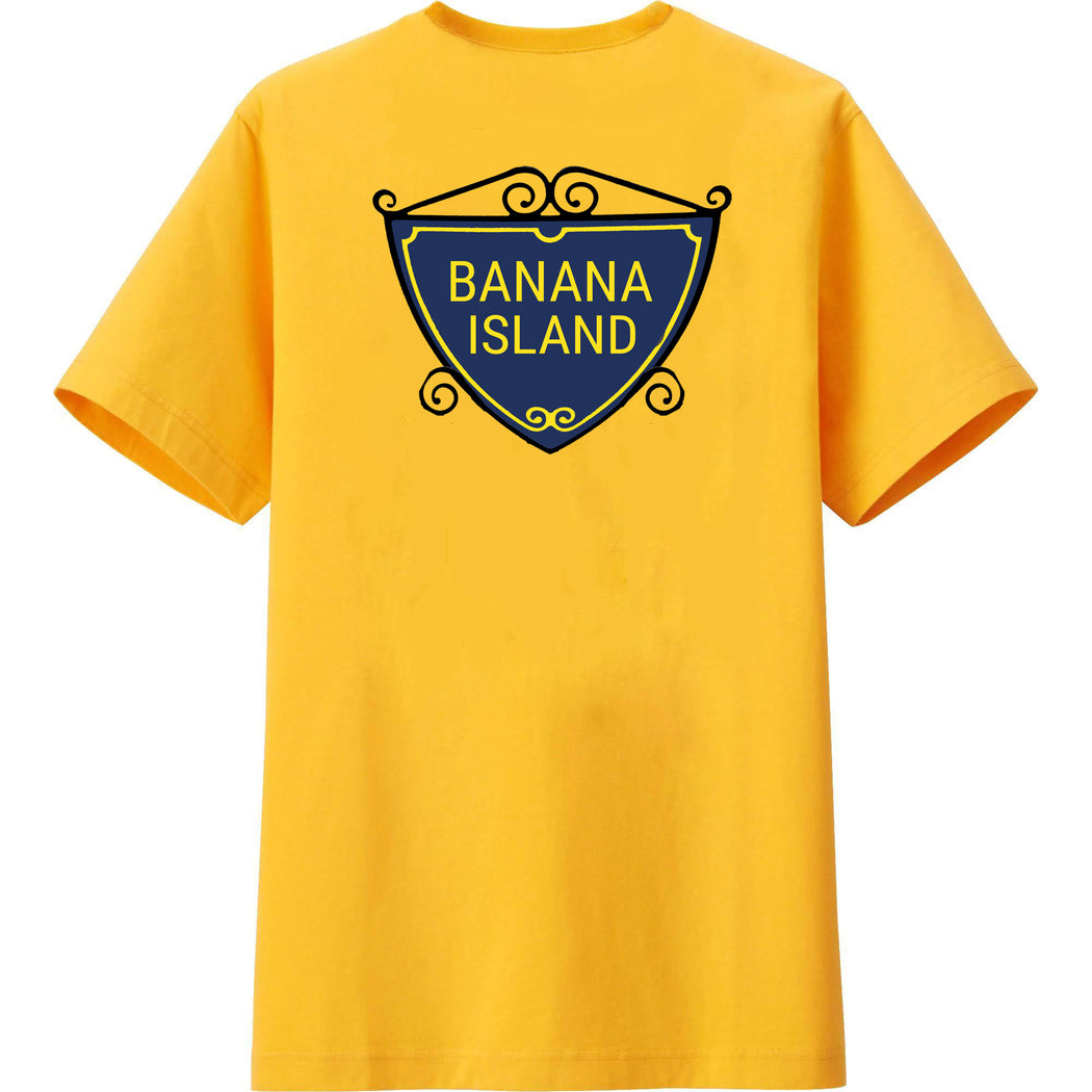 BANANA ISLAND T-SHIRT - POP CAVEN
