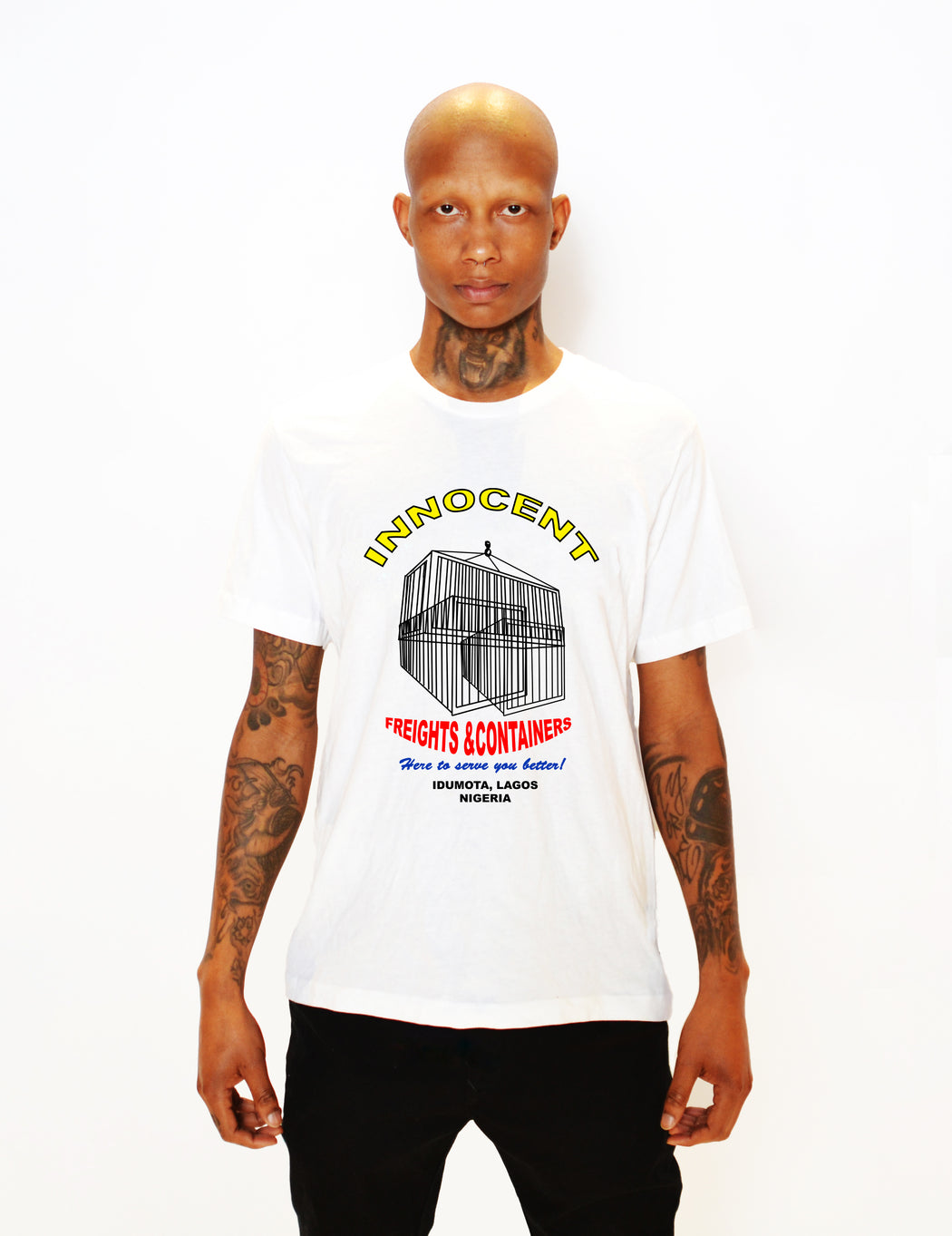INNOCENT FREIGHT T-SHIRT - POP CAVEN