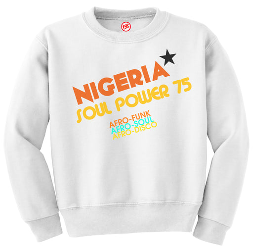 SOUL POWER SWEATSHIRT - POP CAVEN