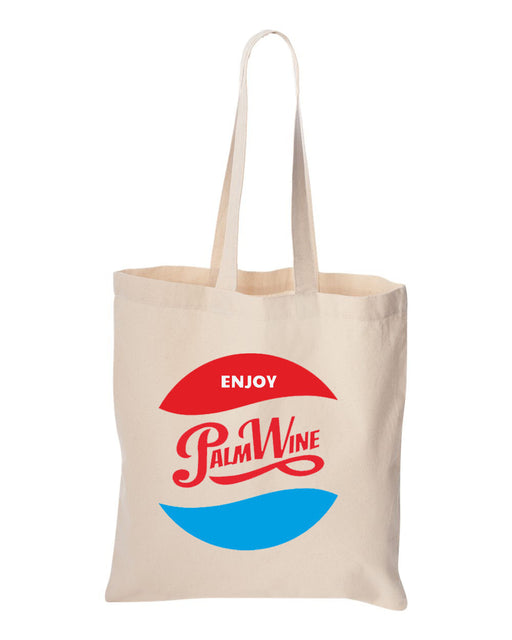 ENJOY PALMWINE TOTE BAG - POP CAVEN