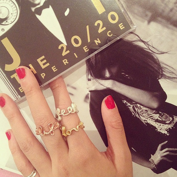Carmen Chan Jewelry Messenger Rings, worn by Valerie Soh