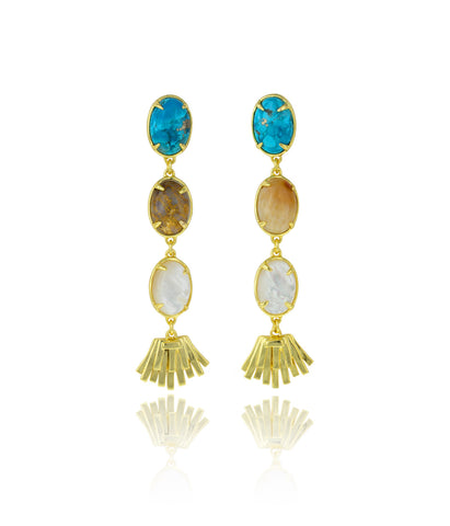 Topio Earrings - Coastal Breeze