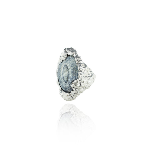 Topio Statement Ring - Iceberg