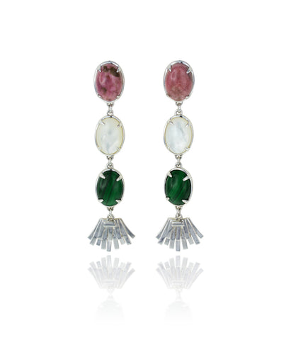 Topio Earrings - Lotus