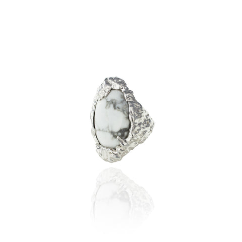 Topio Statement Ring - Snow Mountain