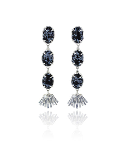Topio Earrings - Snowflake
