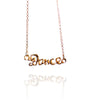 Pendant Necklace | Dance | 18K Rose Gold Plated Sterling Silver