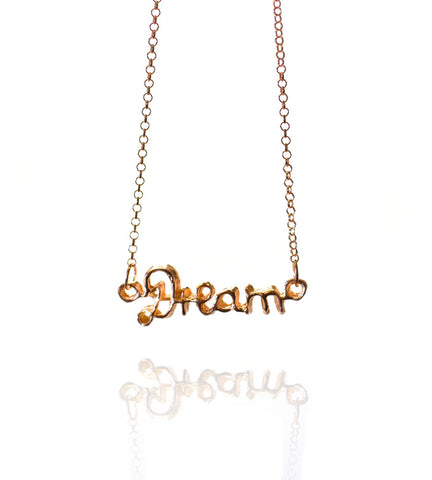 Pendant Necklace | Dream | 18K Rose Gold Plated Sterling Silver