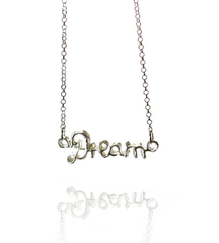 Pendant Necklace | Dream | Sterling Silver