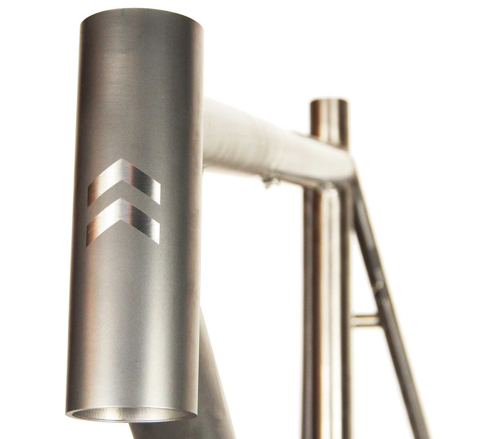Belgie Titanium Bicycle Frame