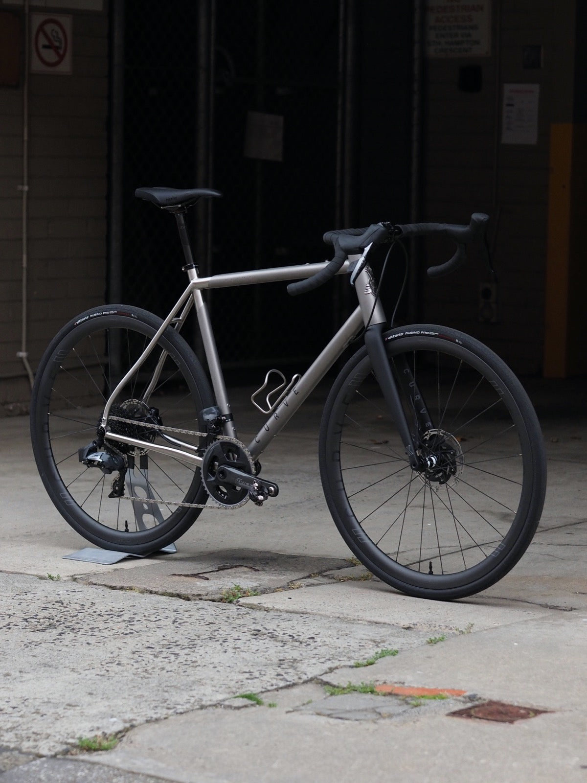 Titanium Ultra Endurance Road Bike