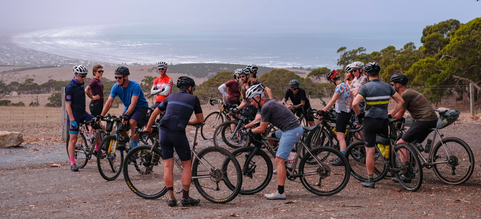 Cycling Group Ride Adventure