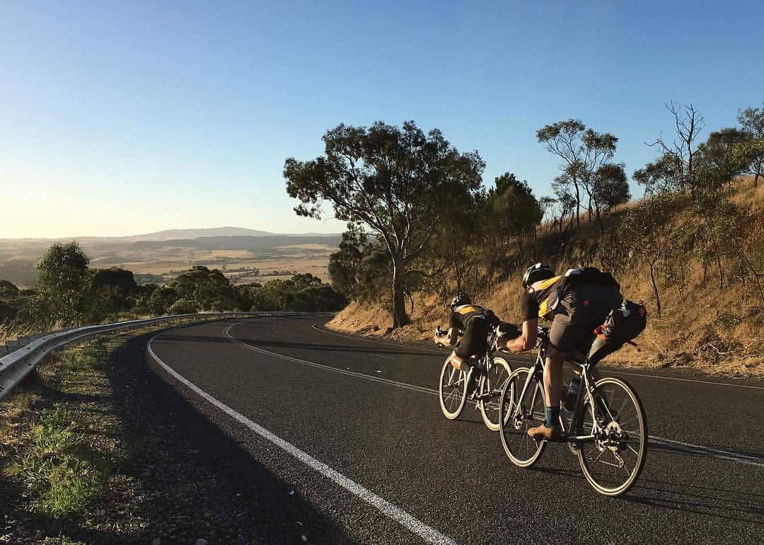 Adelaide to Melbourne TDU Ride