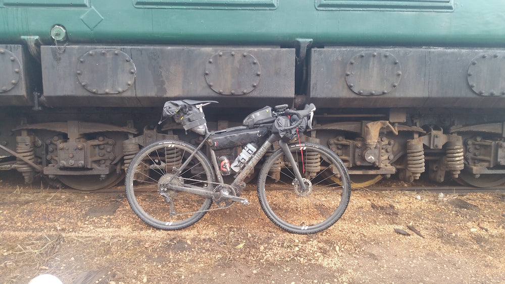 Trains and bikes