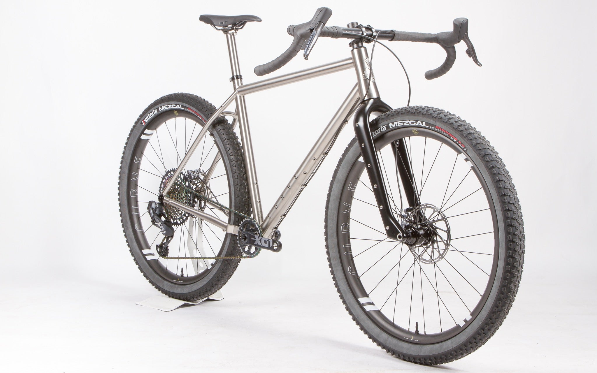 Curve GMX+ titanium bikepacking bike