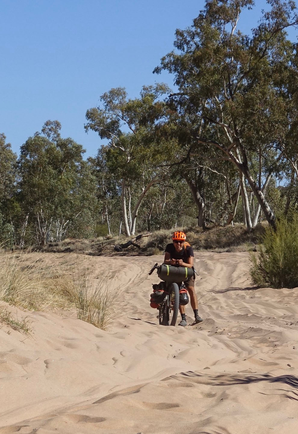Bike Packing Sand