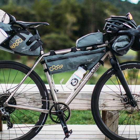 The CURVE CXR Bike Packing