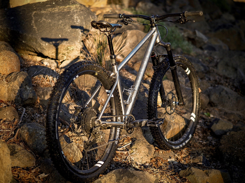 DownRock Titanium Mountain Bike Curve Cycling