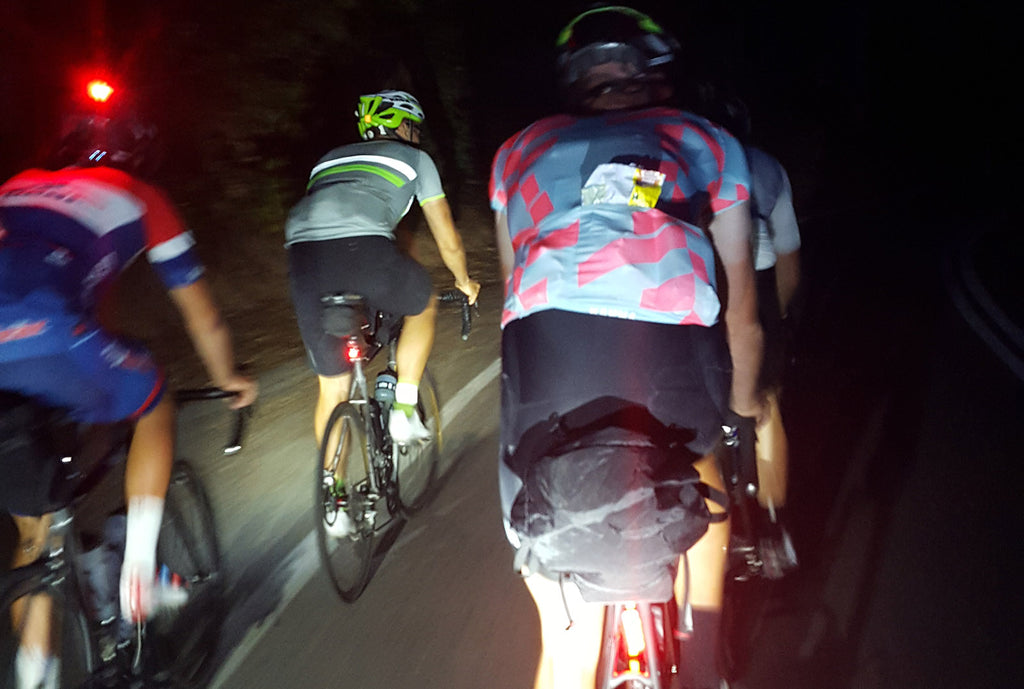 Riding the night with Curve Cycilng