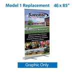 Legacy Model 1 46x85 Replacement Graphic only