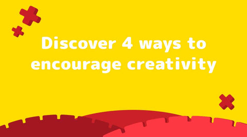 Discover 4 ways to encourage creativity