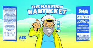 Ack Liquids Man From Nantucket 60ml Bottle