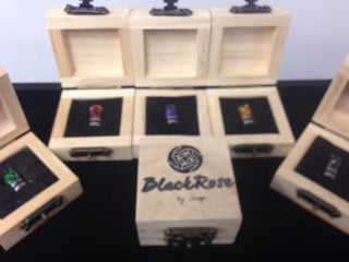 Black Rose Drip Tips