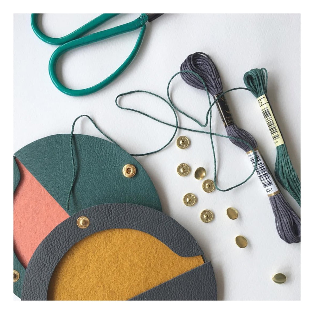 Leather Purse Making with Jude Gove | Guardswell Farm