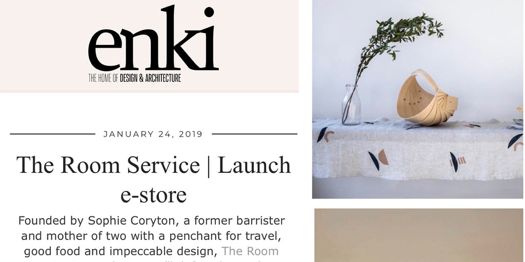 In the Press | The Room Service Launch | ENKI