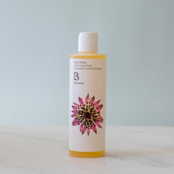 Sweet Orange & Grapefruit Natural Body Wash