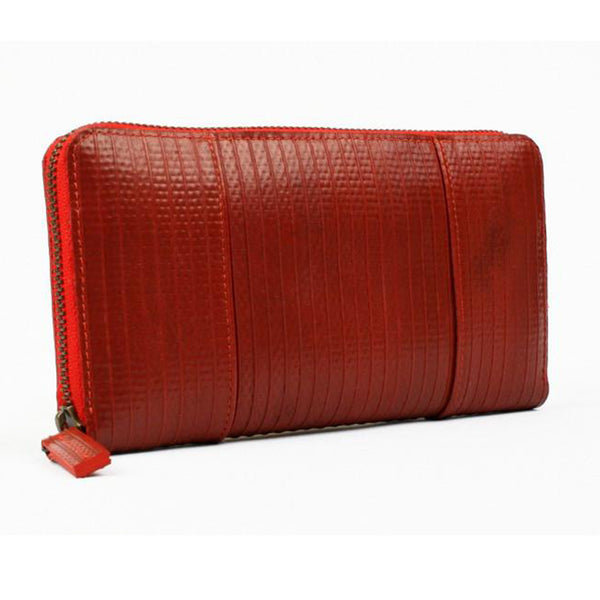 elvis kresse rescued firehose purse red